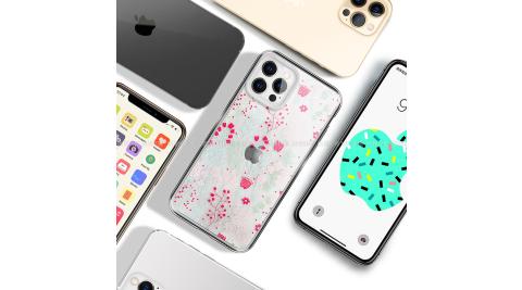 MOOTUN for iPhone 12 / 12 Pro 6.1 防護晶透保護殼 -繽紛小花草