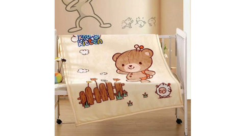 JOANNA 法蘭絨童毯-寶貝熊(含盒) 95x135cm W111