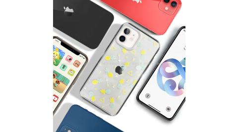 MOOTUN for iPhone 12 mini 5.4吋 防護晶透保護殼 - 三角鳳梨