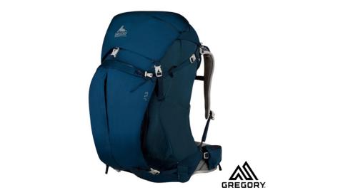 【美國 GREGORY】女 J53 網架式超透氣耐磨健行登山背包(S/53L_附防雨套/升級版)  / 藍 74484