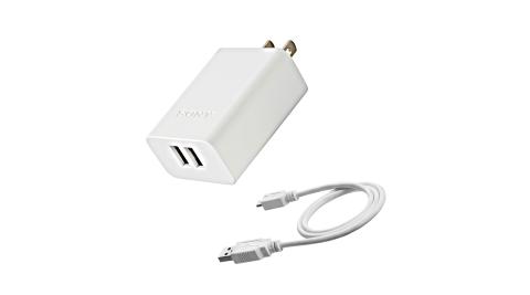 SONY 3A USB原廠旅充頭+傳輸線 (CP-AD2M2)