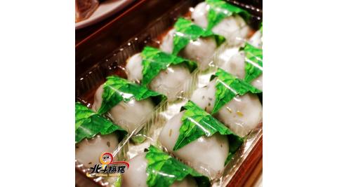 預購《北斗麻糬》古早味菜脯絲鹹麻糬(10粒/盒,共兩盒)