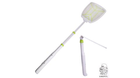 【USEFUL】超長折疊充電式電蚊拍-附LED(UL-EA515)