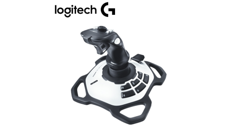 Logitech 羅技 閃靈鈦翼二代搖捍/控制器(旋轉握把/12個可程式按鈕)