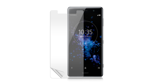 Monia Sony Xperia XZ2 Premium 高透光亮面耐磨保護貼 保護膜