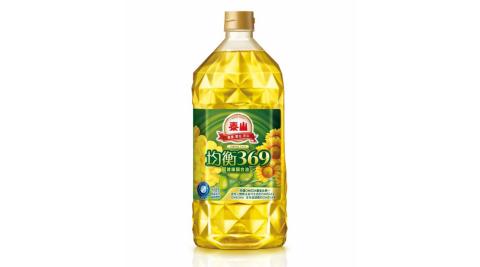 【泰山油品】均衡369健康調合油(1500ml/罐)x2罐組