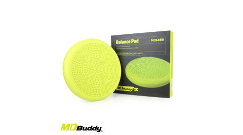 MDBuddy MDBuddy 充氣按摩平衡墊 (訓練 健身 鍛鍊 軟墊 紓壓 隨機@MD1469@