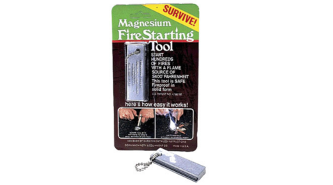 【DOAN CARDED】業成-美軍制式打火石 鎂塊 Magnesium Fire Starting Tool