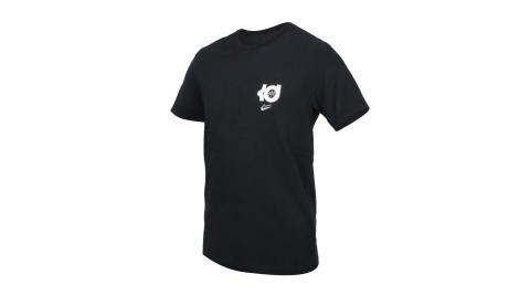 NIKE 男短袖T恤-KEVIN DURANT 籃球 運動 DRI-FIT 黑白@DD0776-010@
