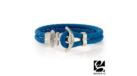 MASSA-G【絕色紀念】鍺鈦能量手環-藍