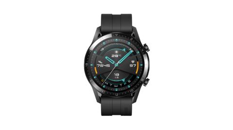 【贈收納包+手機支架等5好禮】HUAWEI Watch GT2 運動版 46mm (曜石黑)