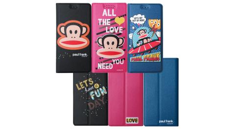 大嘴猴PaulFrank授權正版 iPhone 8 Plus/iPhone 7 Plus 金沙灘彩繪磁力皮套