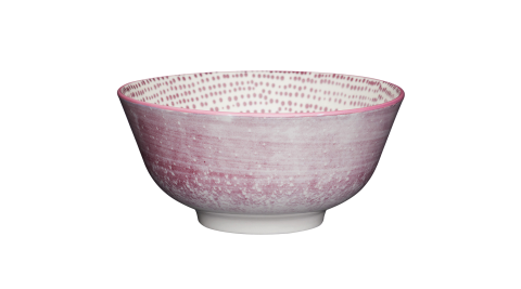 《KitchenCraft》陶製餐碗(斑駁紫)