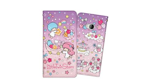 三麗鷗授權 KIKILALA 雙子星 宏達電 HTC U Play 5.2吋 甜心彩繪磁扣皮套(星星樂園)