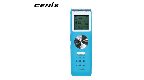 【CENIX】4G 數位錄音筆 VR-S905 藍色