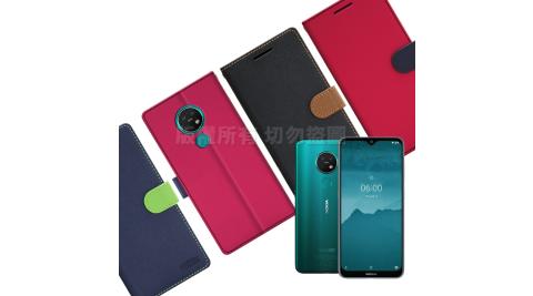 【台灣製造】FOCUS for Nokia 7.2 蜜糖繽紛支架皮套