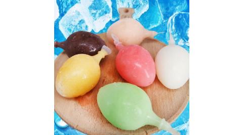 預購《老爸ㄟ廚房》古早味懷舊童趣雞蛋冰-綜合款(5顆/包,共六包)