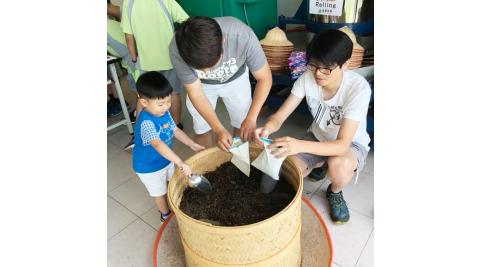 宜蘭冬山-星源茶園(絹印故事茶枕DIY)