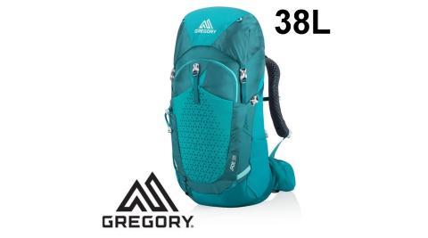 【Gregory】網架透氣背包 JADE 38 女 馬雅綠 (111573-7415) 登山背包