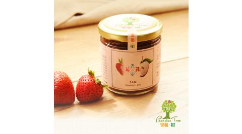 《樂園.樹》莓天蘋安-無農藥草莓蘋果雙果醬(共兩瓶)