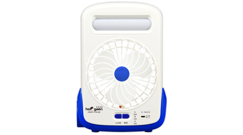 中華豪井多功能風扇探照燈(充電式) ZHEF-FL0105