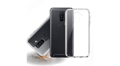 Xmart for 三星 SAMSUNG Galaxy A6+ 2018版 加強四角防護防摔空壓氣墊殼