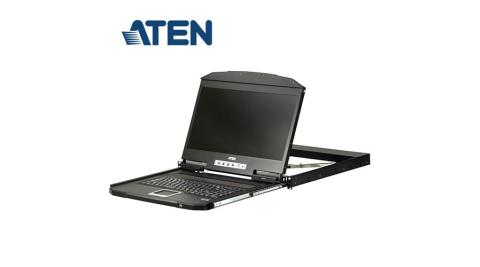 ATEN CL3100NX 短機身單滑軌寬螢幕 LCD 控制端