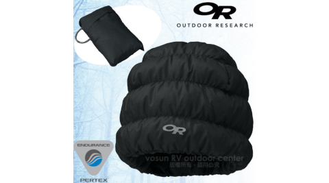 【美國 Outdoor Research】Transcendent Beanie 輕量透氣防潑水保暖羽毛帽/Pertex超輕量防潑水/81810 時尚黑