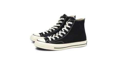 CONVERSECHUCK1970男女高筒帆布鞋黑162050C