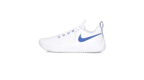 NIKE AIR ZOOM HYPERACE 2男排球鞋-訓練 氣墊 白藍@AR5281104@