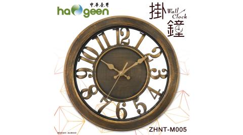 中華豪井 12吋靜音掃描掛鐘 ZHNT-M005