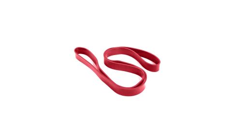 ALEX 大環狀乳膠阻力帶-中量級 瑜珈繩 健身彈力帶 拉力帶 訓練帶 紅@C-5703@