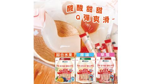 《KAARO》 乳酸菌風味果凍條任選3包組(600g/包)