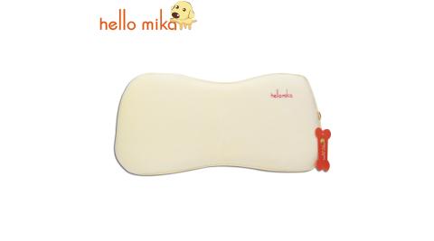 hello mika 米卡 嬰幼兒天鵝絨回彈骨頭枕