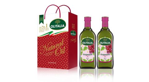 Olitalia奧利塔-葡萄籽油禮盒3組