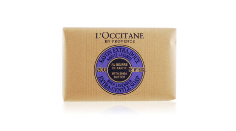L'OCCITANE 歐舒丹 乳油木薰衣草皂(250g)-百貨公司貨