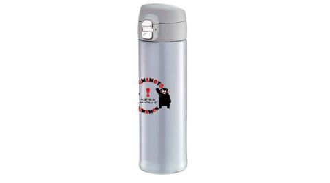 【KUMAMON】酷Ma萌304不鏽鋼超輕量彈蓋520ml保溫瓶