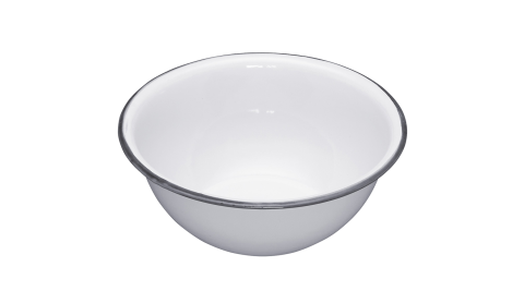《KitchenCraft》復古琺瑯餐碗(15.5cm)