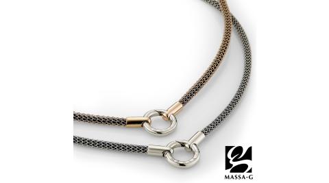 MASSA-G Titan能量之環4mm超合金鍺鈦對鍊