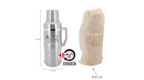 安妮兔 3.6L巨無霸保溫瓶 附束口袋 020P-A038