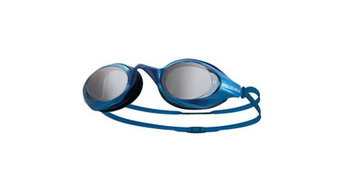 SABLE 黑貂 競速型塑剛玻璃鏡片泳鏡-清晰防霧 游泳 藍@100ST-02@