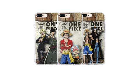 航海王夥伴系列 iPhone 8 Plus/7 Plus 透明軟式空壓殼