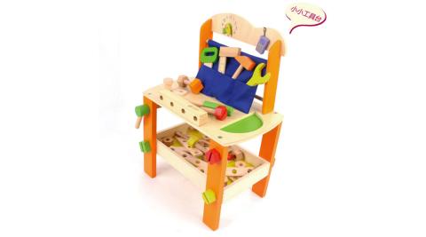 【Classic world 德國經典木玩客來喜】 螺絲工具桌 幼兒扮家家酒遊戲