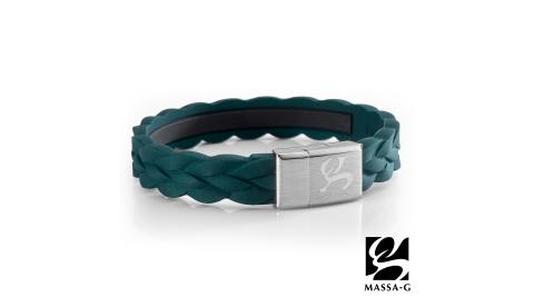 MASSA-G【絕色變奏曲】鍺鈦能量手環-質感綠