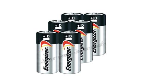 Energizer 勁量 持久型1號鹼性電池 (6顆入) 無汞