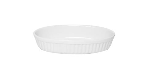 《EXCELSA》陶製橢圓烤盤(24.5cm)