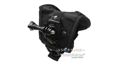 GoPro 最新 強化型360度旋轉掌套手腕帶(小) for HERO 4 3+ 3 2