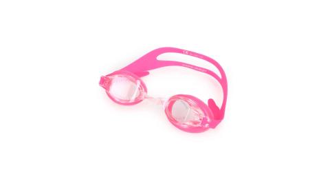 NIKE SWIM 成人泳鏡-游泳 蛙鏡 訓練 戲水 透明粉紅@N79151-678@