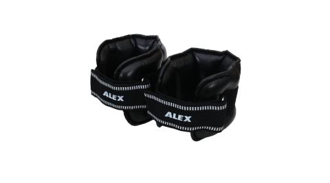 ALEX 5KG PU型多功能加重器-台灣製 健身 重訓 肌力訓練 手腳加重 黑@C-2805@