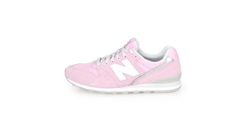 NEWBALANCE NEW BALANCE-WIDE 女復古慢跑鞋-路跑 NB996 N字鞋 寬楦 粉紅白銀@WL996CLD@